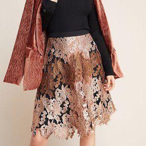 Anthropologie Varun Bahl Jacquard Skirt (NWT)
